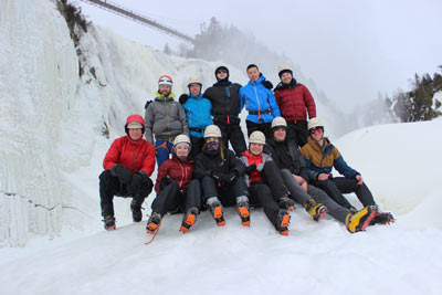 Recreational Club Support Ice climbing | RMC Foundation