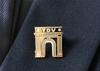 Truth Duty Valour Pin