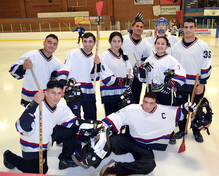 RMC Broomball Team